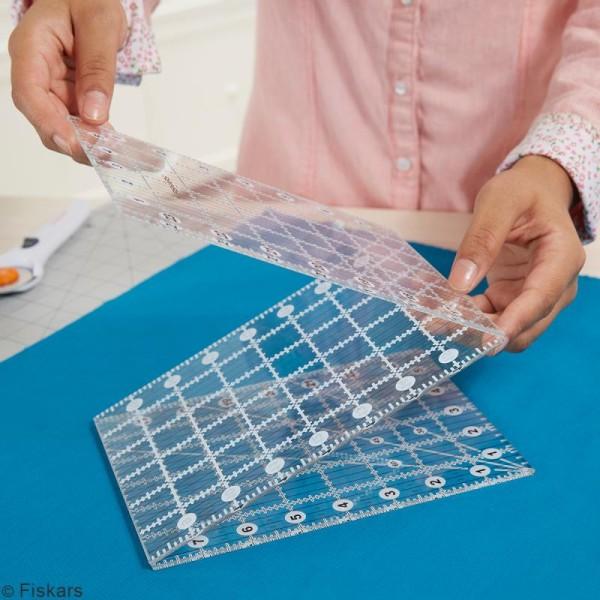 Règle acrylique pliable 3 parties - 15 x 61 cm - Photo n°2