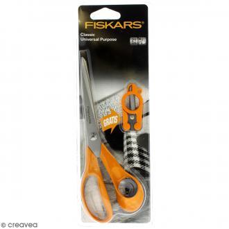 Pack Ciseaux Classic et Ciseaux pliables Fiskars