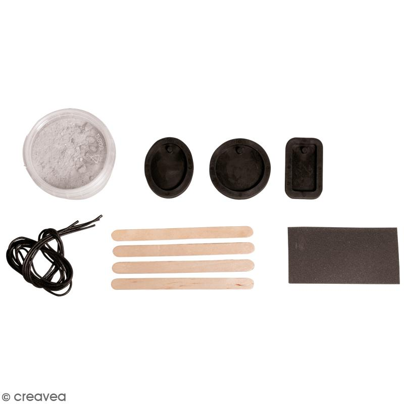 kit bijoux en b ton cr atif pour 3 colliers kit cr atif pour b ton creavea. Black Bedroom Furniture Sets. Home Design Ideas