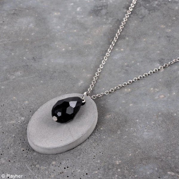Kit Bijoux en béton créatif - Pour 3 colliers - Photo n°5