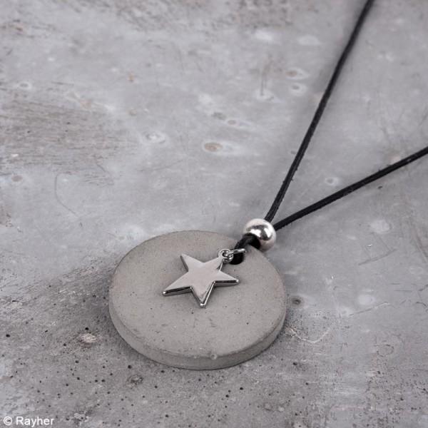 Kit Bijoux en béton créatif - Pour 3 colliers - Photo n°6