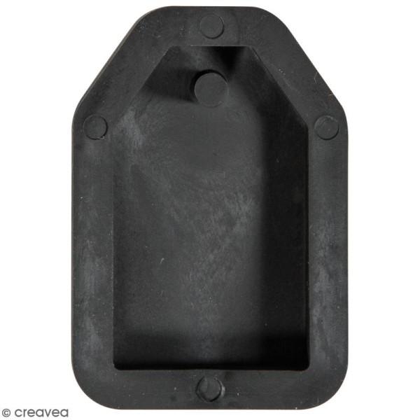 Moule en silicone - Tag - 23 x 39 mm - Photo n°1
