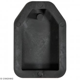 Moule à bijou pour béton - Tag - 23 x 39 mm
