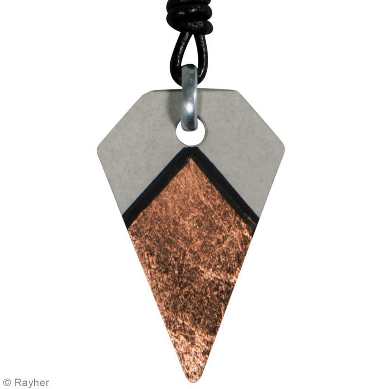 Moule à bijou pour béton - Diamant - 25 x 39 mm - Photo n°2