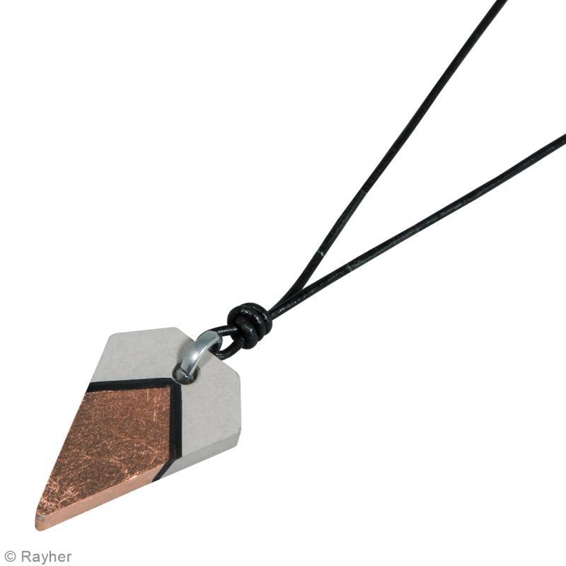 Moule à bijou pour béton - Diamant - 25 x 39 mm - Photo n°4