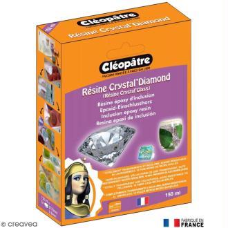 Résine Crystal Glass Cléopâtre 150 ml avec fiche conseils