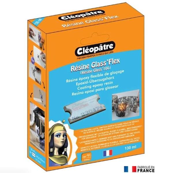 Résine Glass' Flex (ex Glass' 100) Cléopâtre 130 ml avec accessoires - Photo n°1