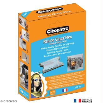 Résine Glass'100 Cléopâtre 210 ml avec fiche conseils