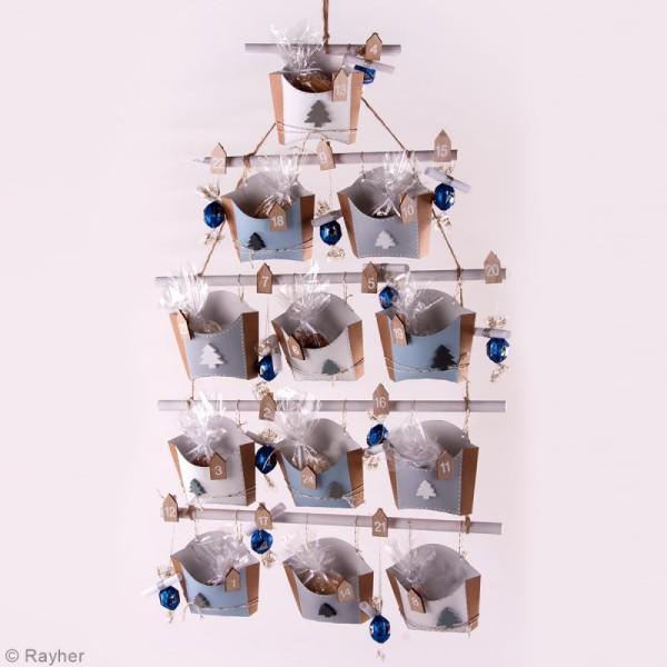 Baguettes en bois pour suspension - 3 dimensions - 5 pcs - Photo n°3