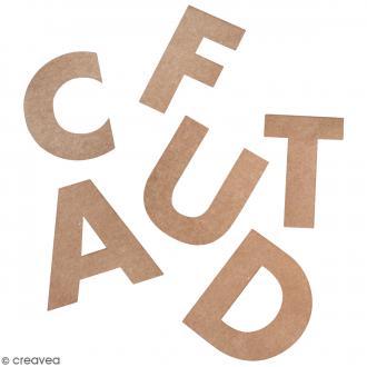 Dies cuts Alphabet - 7 cm - 79 pcs