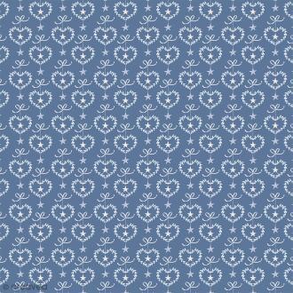 Feutrine à motifs Artemio - Givré Coeurs - 1 mm - 30 x 30 cm