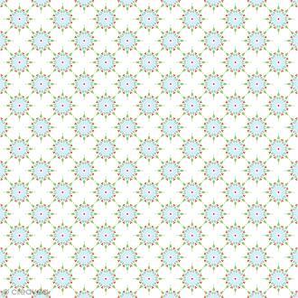 Feutrine à motifs Artemio - Classique Flocons - 1 mm - 30 x 30 cm