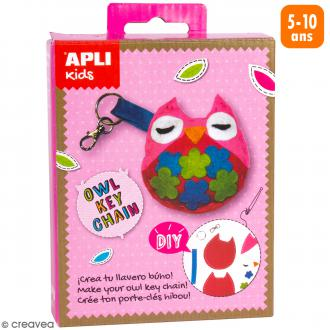 Mini Kit créatif Porte-clés - Hibou