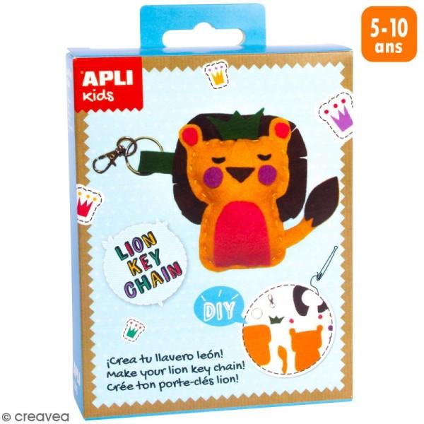Mini Kit créatif Porte-clés - Lion - Photo n°1