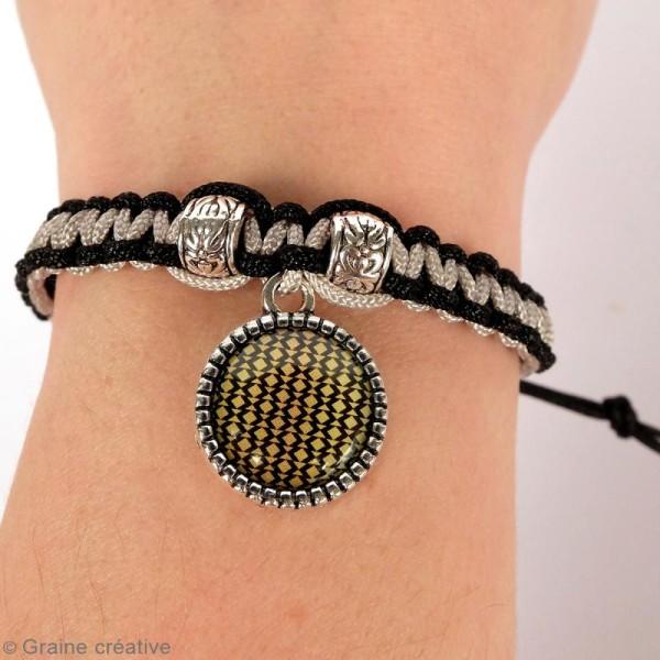 Kit pour création de bijoux Bling Bling - Collier et bracelet à tresser - Photo n°3