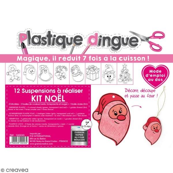 Kit plastique dingue - Pour 12 suspensions - Photo n°1