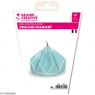 Moule latex Origami diamant