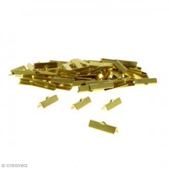 Fermoir ruban 25 mm Doré - 100 pcs