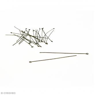 Clous à tête ronde 70 mm - Bronze - 20 pcs
