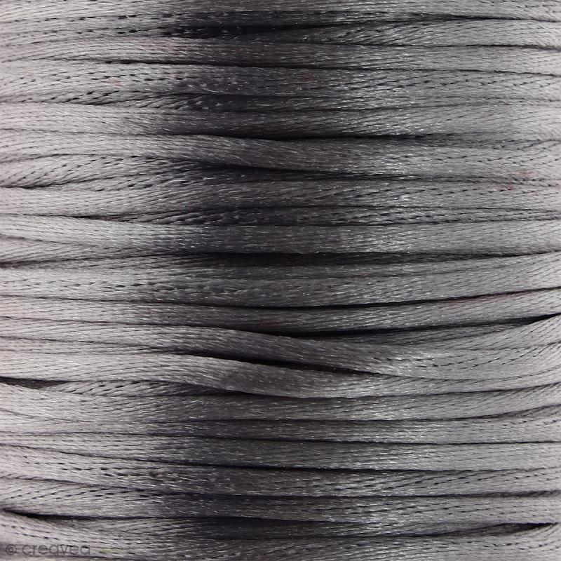 Cordon queue de rat Gris - 2 mm - 25 mètres - Photo n°1
