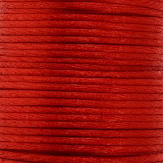 Cordon queue de rat Rouge - 2 mm - 25 mètres