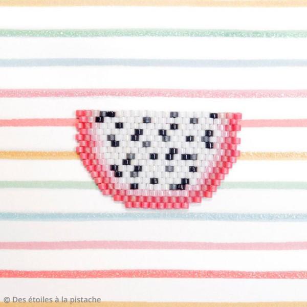 Perles Miyuki Delica 11/0 - DB0201 - White Pearl - 5g - Photo n°6
