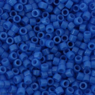 Perles Miyuki Delica 11/0 - DB2134 - Duracoat opaque Delphinium - 5g
