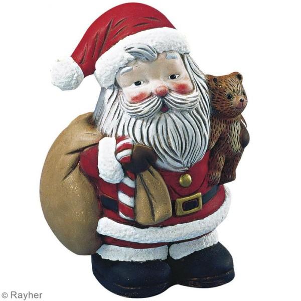 Père Noël en polystyrène - 17,5 cm - Photo n°2