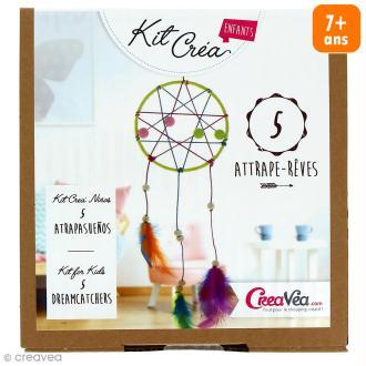 Kit pour 5 Attrape rêves