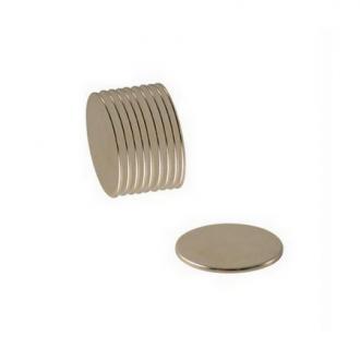 Aimant néodyme - Diamètre 3 mm - 10 pcs