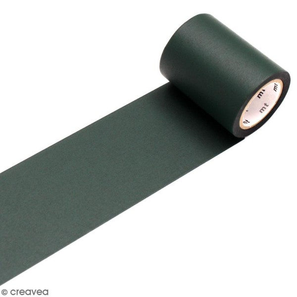 Masking tape large Ardoise vert - 5 cm x 5 m - Photo n°1