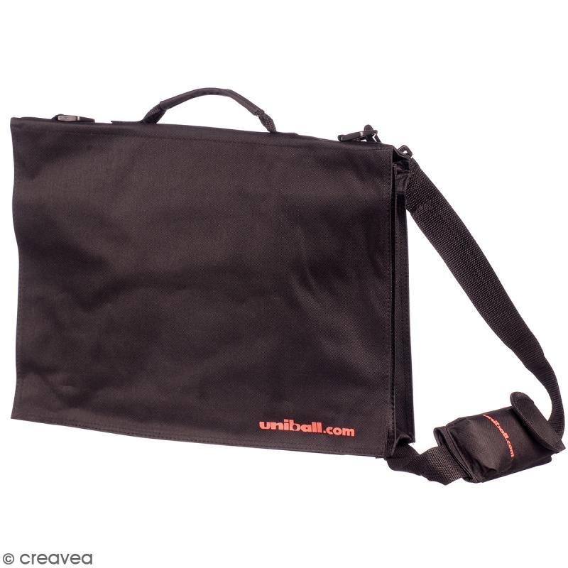 Offre Spéciale : Mallette de 20 marqueurs Posca Trendy Colors + Besace noire uniball - Photo n°2
