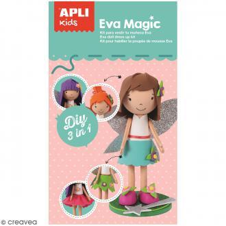 Kit feuille de mousse - Poupée Fofucha Eva Magic