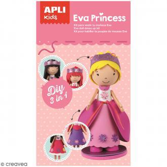 Kit feuille de mousse - Poupée Fofucha Eva Princess