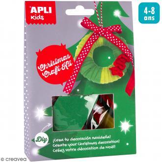 Kit créatif Suspension de Noël - Couronne