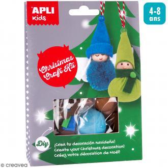 Kit créatif Suspension de Noël - Elfe et Ange