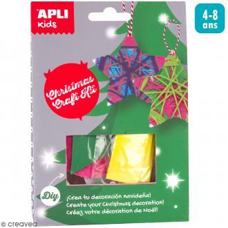 Kit créatif Suspension de Noël - Etoiles de Noël