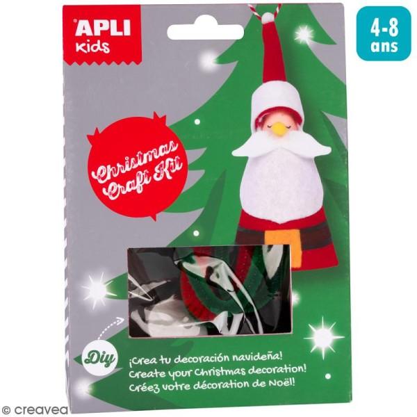 Kit créatif Suspension de Noël - Père Noël - Photo n°1
