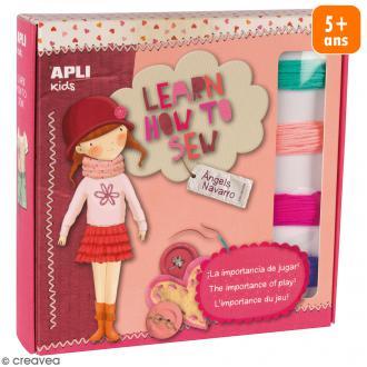 Kit Apprends à coudre Apli Kids