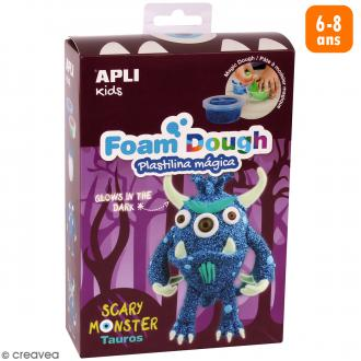 Kit de modelage Foam Dough - Monstre bleu