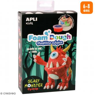 Kit de modelage Foam Dough - Monstre rouge