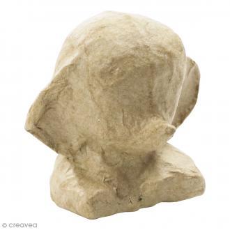 Mini Eléphant à décorer - 6,5 x 4,5 x 6 cm