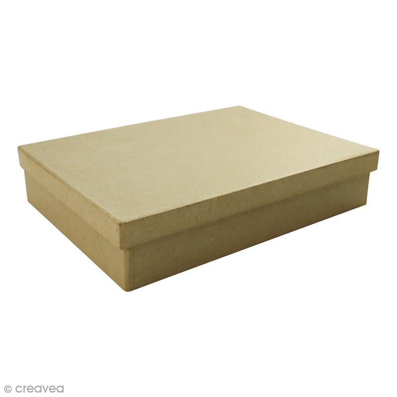 Boite Boîte A5 à décorer - 15 x 21 x 4,5 cm - Photo n°1