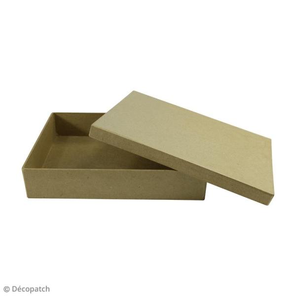 Boite Boîte A5 à décorer - 15 x 21 x 4,5 cm - Photo n°2