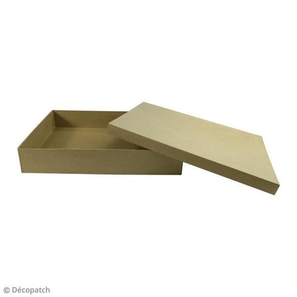 Boite Boîte A4 à décorer - 21 x 29,7 x 5,5 cm - Photo n°2