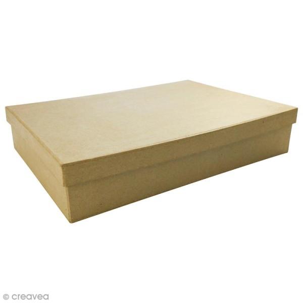 Boite Boîte A4 à décorer - 21 x 29,7 x 5,5 cm - Photo n°1