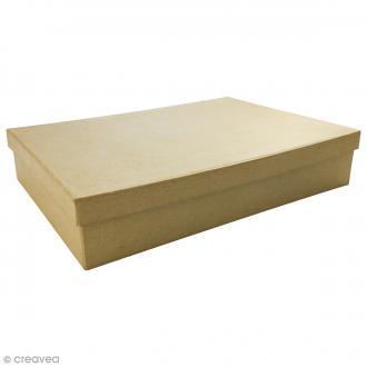 Boite Boîte A4 à décorer - 21 x 29,7 x 5,5 cm