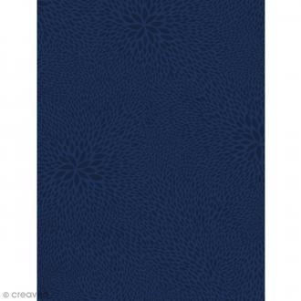Décopatch Bleu 723 - 1 feuille