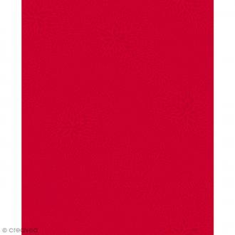 Décopatch Rouge 724 - 1 feuille