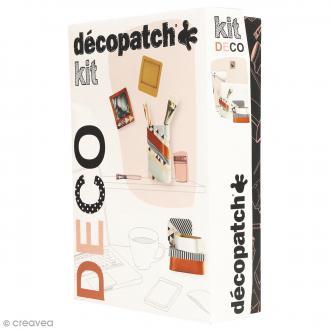 Kit Décopatch Déco - Papiers et supports à personnaliser